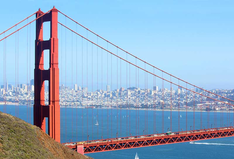 Golden Gate Bridge em San Francisco