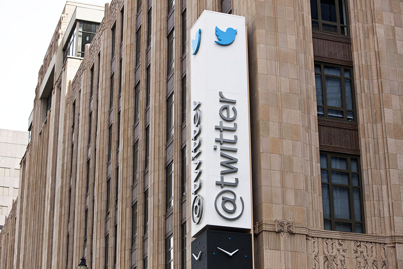 Sede do Twitter em San Francisco